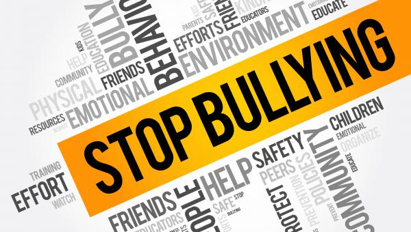 Bullying Awareness and Prevention Week Word Cloud